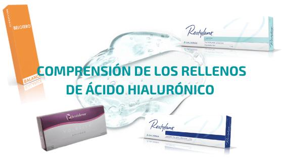Comprensión de los rellenos de ácido hialurónico en la medicina estética: rellenos de AH monofásicos y bifásicos.