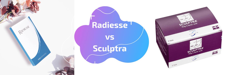 Radiesse vs Sculptra